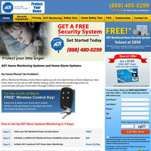 ADT Alarms Direct Security