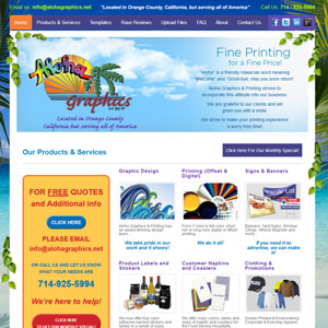 Aloha Graphics and Printing
