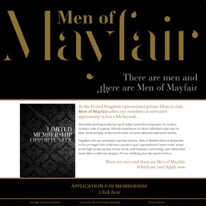 Men of Mayfair