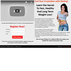 The Weight Loss Webinar